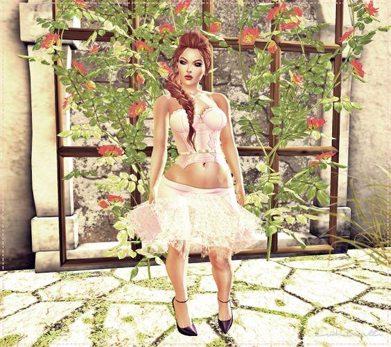 Moda no SL by Luah Benelli: ~TD~ Ellen Pink Mini Dress [WEAR]