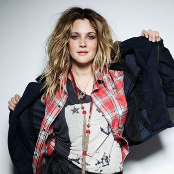 Drew Barrymore is my inspiration for Tuula, in my series Bad Faeries, book 4.