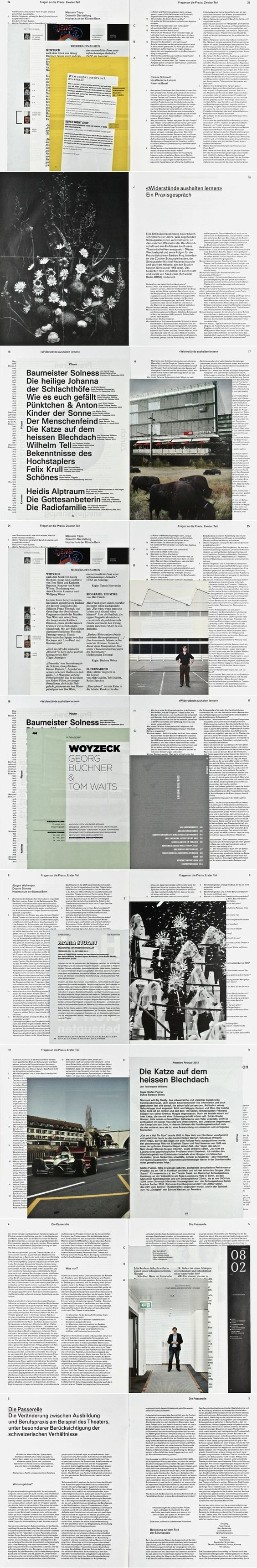 HKB – Jahrbuch 2012 | P A P E R | Pinterest | Editorial, Layouts and ...