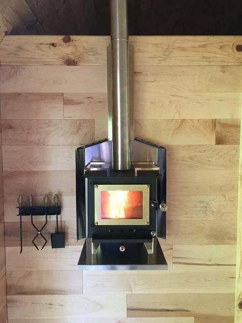 Design Mini Wood Stove Tiny House Wood Stove Cubic Mini Wood Stove