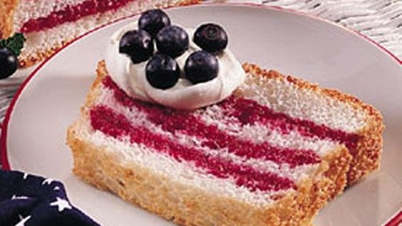 Family and friends will eagerly devour this sensational patriotic dessert made with bountiful summer berries! 16 servings