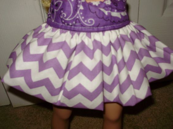 doll clothesbubble skirt new18 inch doll.new by alwaysaladyBetty, $6.00