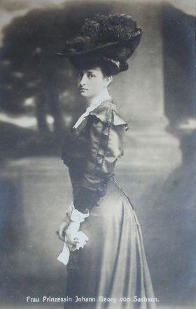 Princesse Maria-Immaculata de Bourbon-Siciles (1874-1947) princesse de Saxe