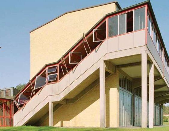 Adgb trade union school berlin by hannes meyer for Meyer architecture