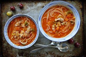 Tomato Chicken Noodle Soup   Tasty Kitchen: A Happy Recipe Community!