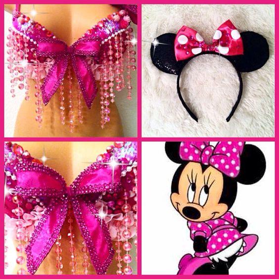 Minnie Mouse Bra