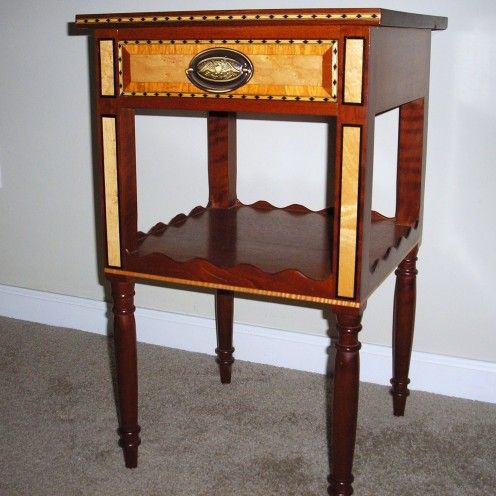 Federal Style Furniture | Federal Style Side Table | Federal Furniture |  Pinterest | Federal And Woodwork