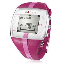 Polar FT4 Fitness Training Watch (Pink) $89.99 Radioshack      Black and silver one at Target online for $60.99 but I kind of want PINK! :(