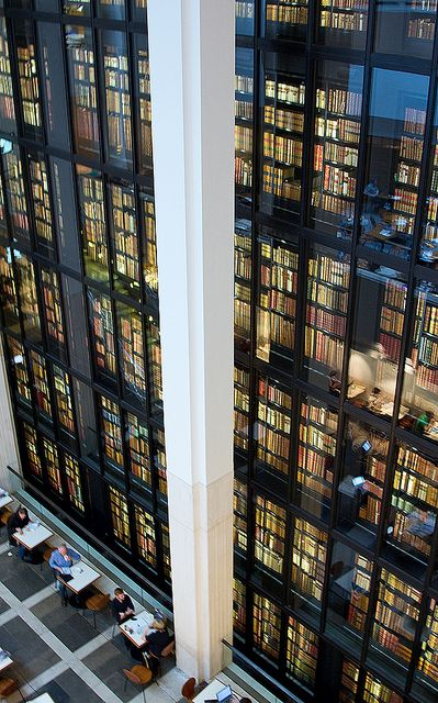 The King's Library, British Library, St Pancras, London by Chris John Beckett (And you thought NY was the biggest) :)