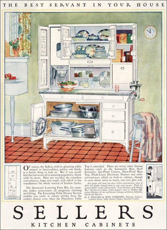 Kitchen Cabinets Ideas sellers kitchen cabinet history : Sellers kitchen cabinet | Vintage Kitchens | Pinterest | Kitchen ...