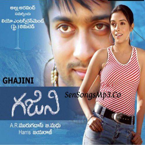 Ghajini Telugu Movie Songs Surya Asin Songs In 2020 Audio Songs Songs Telugu Movies