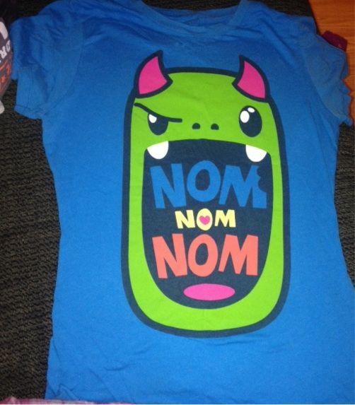 Nom Nom Nom T-shirt - Small