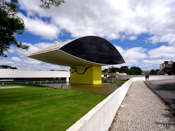 Museu do olho -  Oscar Niemeyer