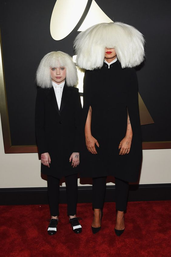 Sia & Maddie Ziegler | All The Looks From The 2015 Grammy Awards