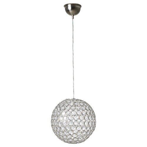 Kristaller Chandelier 3 Armed Silver Color Glass Ikea Pendant Lamp Lamp Clear Light Bulbs