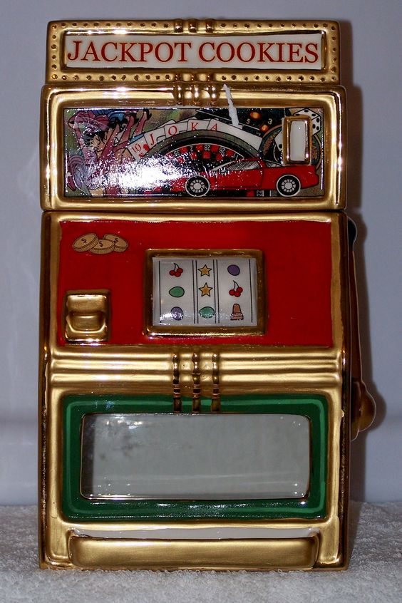 *SLOT MACHINE ~ Cookie Jar