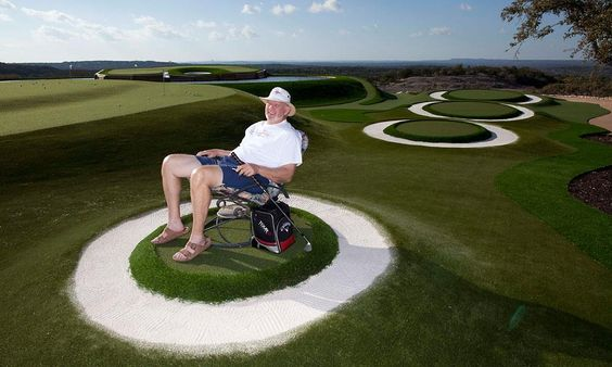Dave Pelz' Golfer's Paradise with SYNLawn Golf.  http://www.golf.com/photos/dave-pelzs-golfers-paradise/dave-pelz