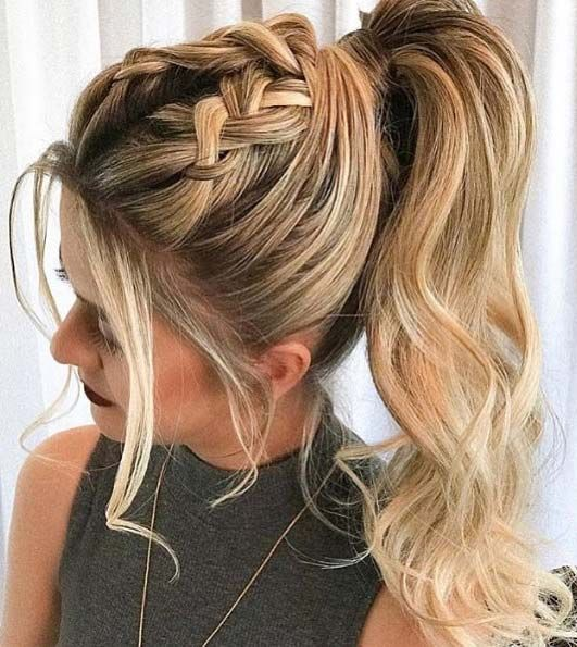 45 Elegant Ponytail Hairstyles For Special Occasions Braided Ponytail Hairstyles Elegant Ponytail Long Hair Styles