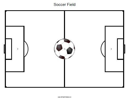 Free Printable Soccer Field Download Free Clip Art Free Clip Art On Clipart Library Soccer Soccer Field Free Clip Art