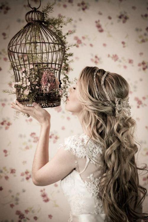 Penteados para noivas | Cabelos soltos