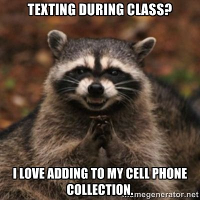cell phone in class meme - Google Search