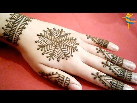لعشاق الاناقة والجمال رسمة من وحي الخيال مع اختكم ام خولة Youtube Simple Mehndi Designs Mehndi Designs Mehndi Simple