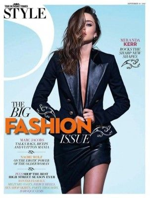 Miranda Kerr for The Sunday Times Style Magazine September 2012