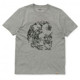CARHARTT S/S FLECK T-SHIRT - Grey Heather