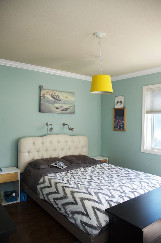 Love Everything About This Bedroom The Paint Colors The