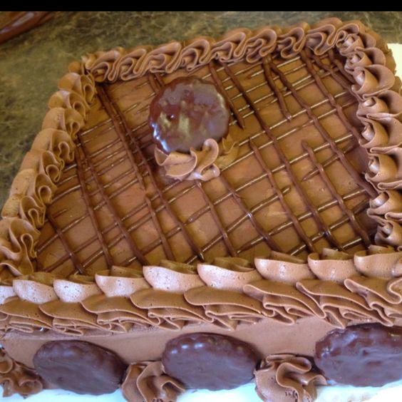 Chocolate Grasshopper cake