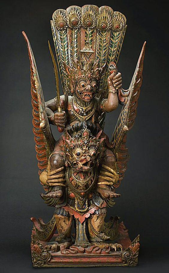 The Demon King Ravana Riding a Mythical Bird | Weird ...
