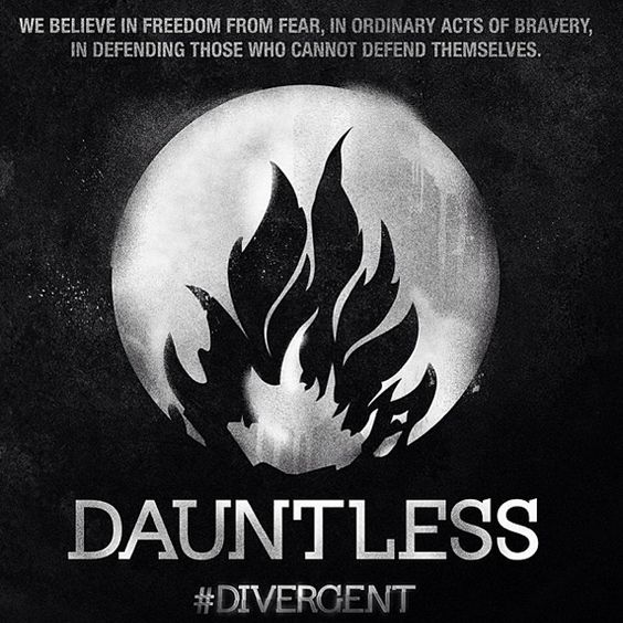 DIVERGENT Dauntless Faction Symbol Necklace: