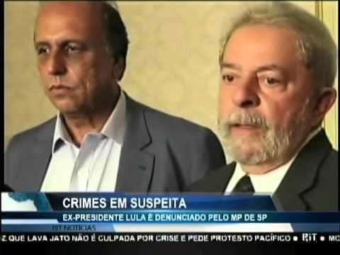 Ex-presidente Lula é denunciado pelo MP de São Paulo