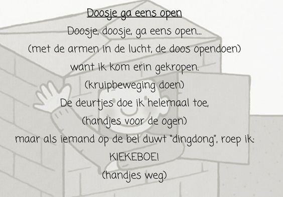 Thema dozen: versje 'Doosje ga eens open'