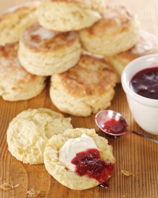 Mummy's Sweet White Scones Recipe