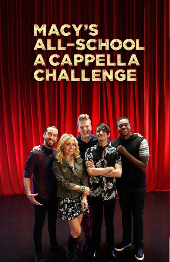 Think your squad is up for the challenge? Find out how you can win $25,000 for your school in the Macy's All-School A Cappella Challenge.