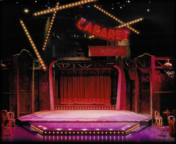 Cabaret. College Conservatory of Music. Set design by Mark Halpin.