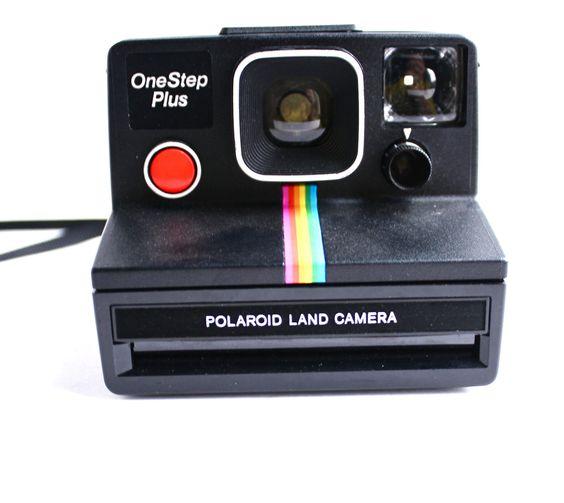Iconic Rainbow Vintage Polaroid OneStep Plus Camera