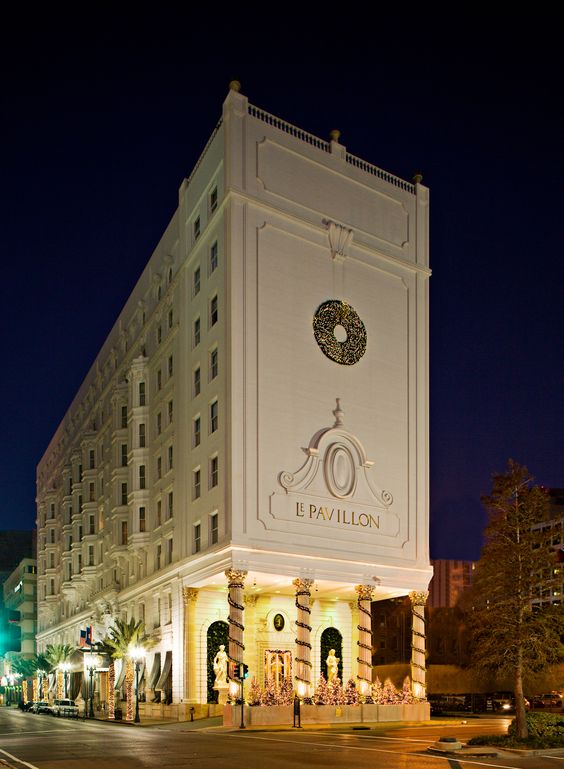Le Pavillon Hotel—New Orleans, Louisiana.
