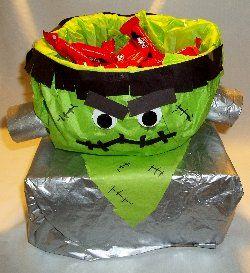 Frankenstein treat bowl