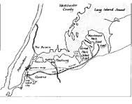 This is A Map of New York, the west egg & the east egg where most ...