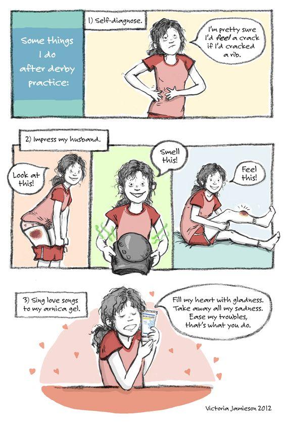 Victoria Jamieson - Roller Derby Comics - Derby Comic #10