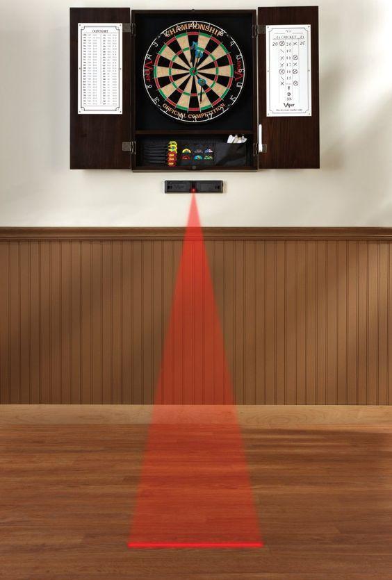 Laser Dart Throw Line Marker - http://www.crackformen.com/laser-dart-throw-line-marker-25