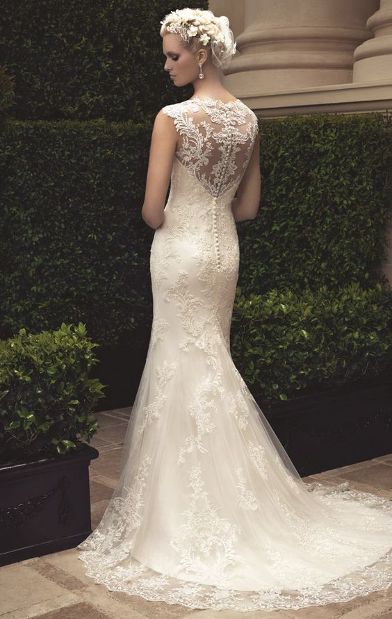 a luxurious parade of gorgeous wedding dresses