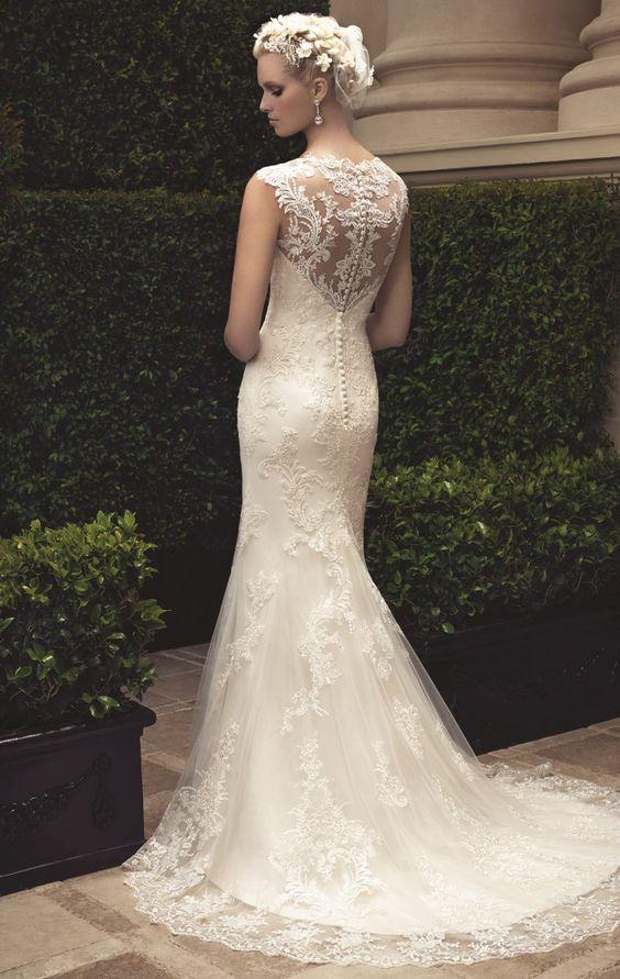 Casablanca bridal and dresses on pinterest for Casablanca lace wedding dress