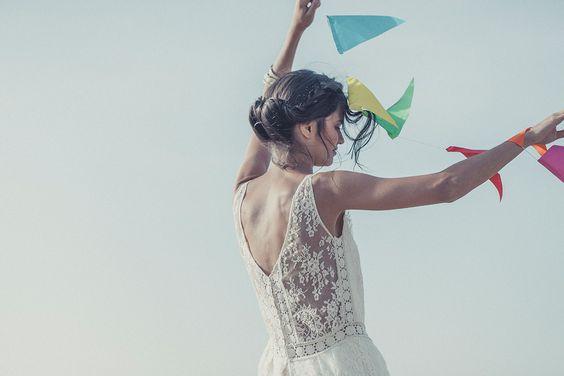 Laure de Sagazan | Robe ANDERSEN | Collection 2014