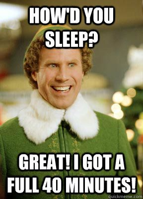 Best things about winter break explained by Buddy the Elf