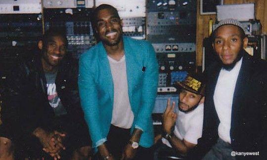 Kobe Bryant, Kanye West, Swizz Beats & Mos Def