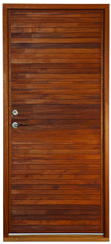 Aros - a modern design from our super secure Je-Trae entrance doors range.  #jetrae #exterior #door