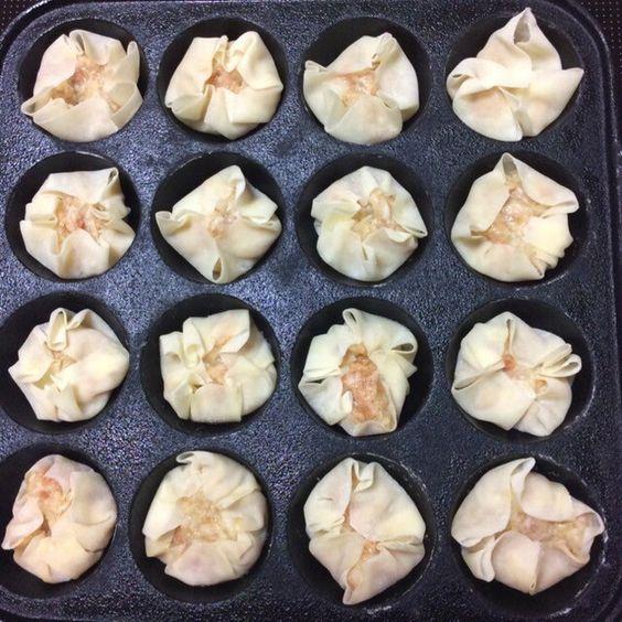 たこ焼き器で簡単☆アツアツ揚げシュウマイ by ichigo一恵 [クックパッド] 簡単おいしいみんなのレシピが213万品